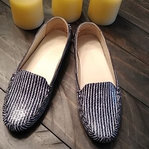Cole Haan Grandos Stripe Leather Shoes